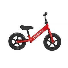 Беговел Panma BT-619 Red велобіг від без педалей дитячий велосипед 26 см