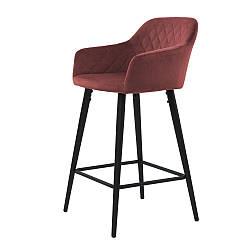 Antiba полубарный стул гранат