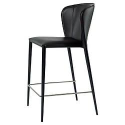 Arthur полубарный стул чёрный