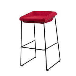 Coin полубарный стул красный