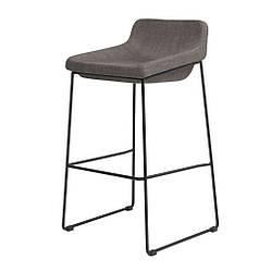Comfy барный стул серый