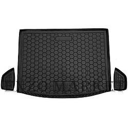 Автомобильный коврик в багажник Suzuki SX4 2014- верхняя полка (Avto-Gumm)
