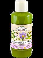 Крем-пена для ванн (Мелиса и Пион) - Зеленая Аптека 1000мл.