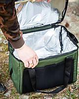 Термо сумка на 37 литров Fisher Сумка холодильник для Отдыха и Рыбалки
