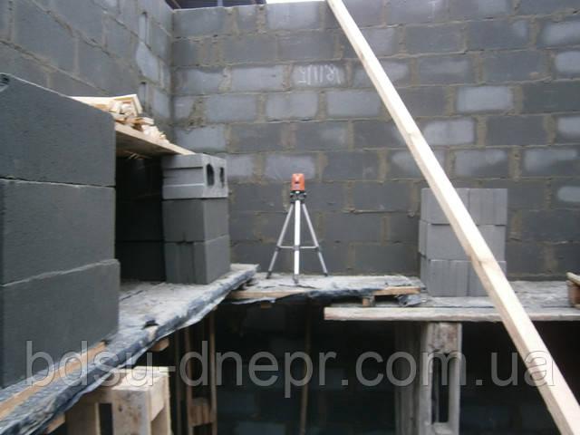 Строительство армопояса в Днепропетровске
