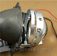 СИНИЕ Дьявольские Глазки 360 для подсветки любых линз / 360 Devil Eyes Rings for Projector Lens (BLUE), фото 3