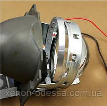 ЖЕЛТЫЕ Дьявольские Глаза 360 для подсветки любых линз / 360 Devil Eyes Rings for Projector Lens (YELLOW), фото 3