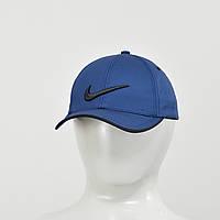 Бейсболка Nike (тонкий хлопок) синий+черный