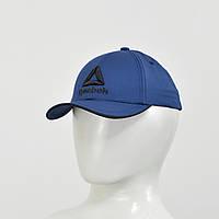 Бейсболка Reebok (тонкий хлопок) синий