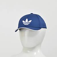 Бейсболка  Adidas (тонкий хлопок) синий