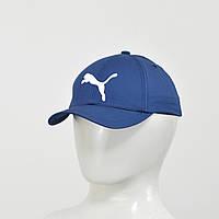 Бейсболка  Puma (тонкий хлопок) синий