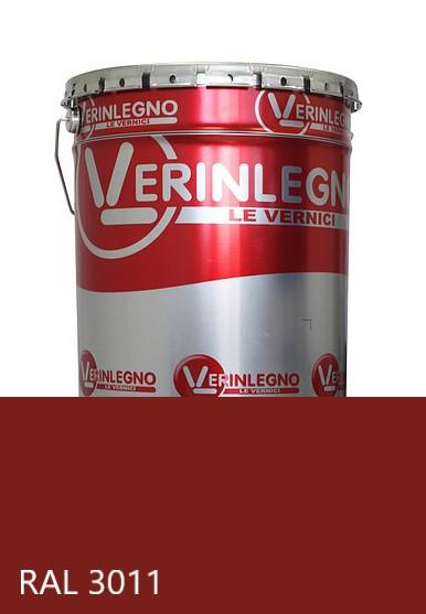 Краска полиуретановая для мебели Verinlegno Италия, Цвет  RAL 3011, двухкомпонентная