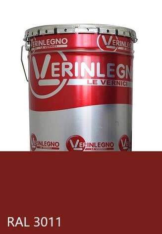 Краска полиуретановая для мебели Verinlegno Италия, Цвет  RAL 3011, двухкомпонентная, фото 2