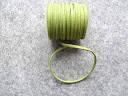Шнур замшевий, 3 мм, зелений