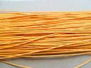 Шнур вощений, 1 мм, жовтий