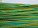 Шнур синтетичний, кольоровий. Жовто-зелений, 5 мм