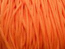 Шнур синтетический, цветной. Оранжевый