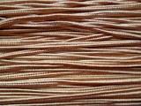 Сутаж коричневий, 3 мм