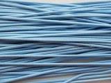 Резинка шляпная, голубая, толщина 2,5 мм