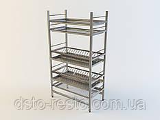 Стеллаж для сушки посуды 1000/320/1650 мм