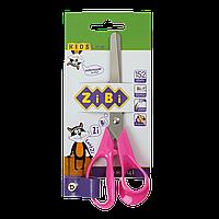 Ножницы детские 152 мм с пластиковыми 3Dручками  розовые KIDS Line