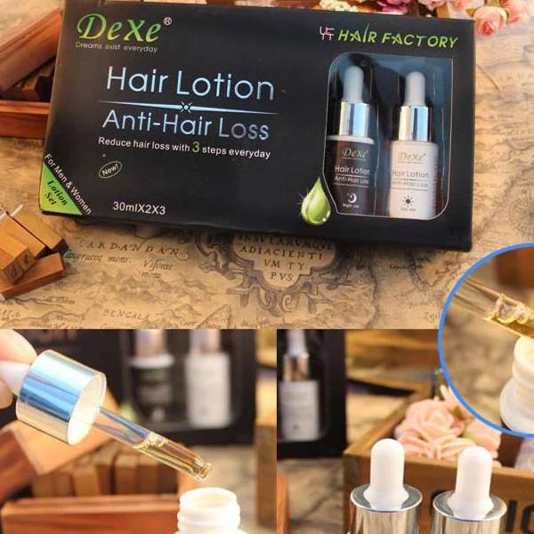"""New! Лікувальний лосьйон активатор і відновлення росту волосся ― DEXE """"Hair Lotion Anti-Loss""""."""