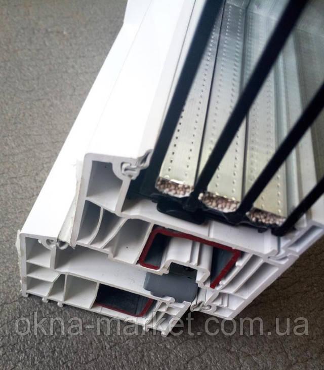 Металлопластиковые окна Декко 82