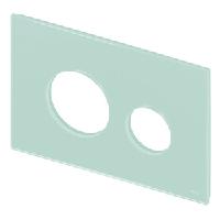 Стеклянная лицевая панель TECE TECEloop modular 9.240.670 светло-зеленая