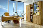 Офісний стіл для директора з ящиками в кабенет Оріон, фото 4