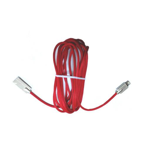 USB дата кабель Lightning 3м для Apple iPhone, iPad, iPod, в оплетке