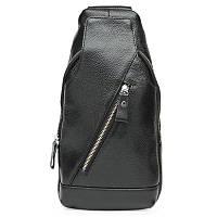 Мужской кожаный рюкзак Keizer k15029-black