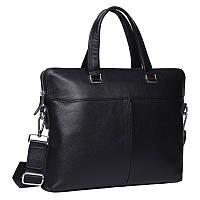 Чоловіча шкіряна сумка Keizer K19158-1-black
