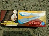 Утюжок для выпрямления волос А-Плюс A-Plus HS-1534 с насадками гофре, фото 8