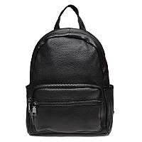 Женский кожаный рюкзак Keizer K110086-black, фото 1