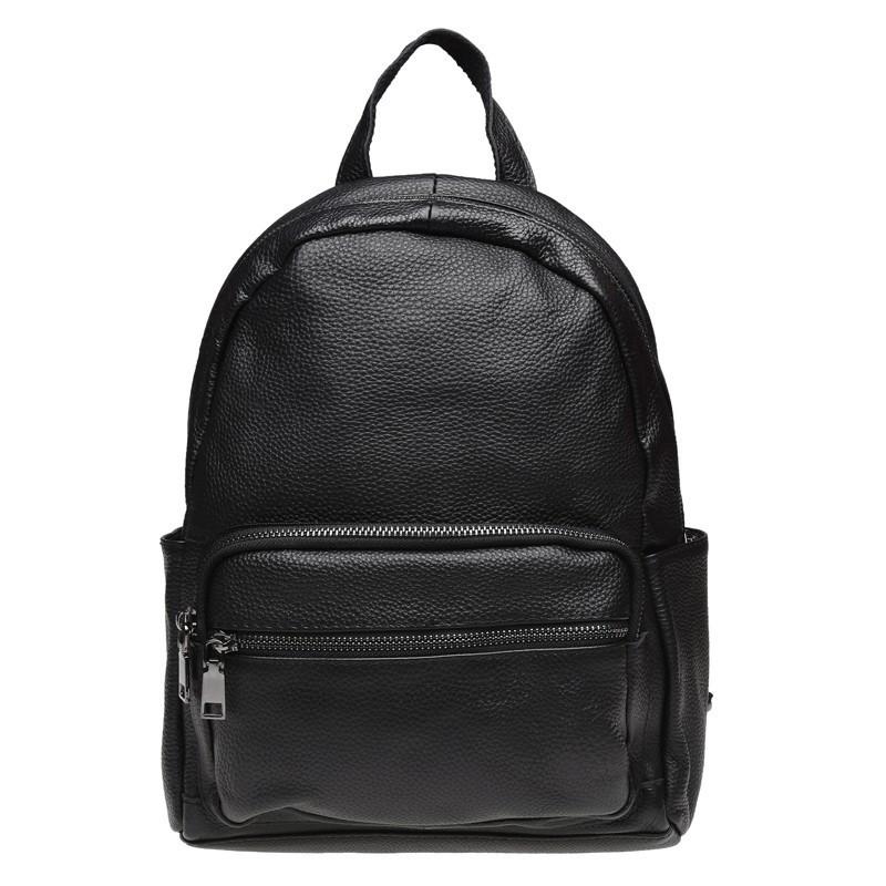 Женский кожаный рюкзак Keizer K110086-black