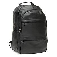Мужской кожаный рюкзак Keizer K1883-black