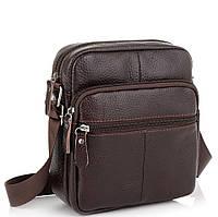 Коричневая мужская сумка Tiding Bag NM20-2610DB, фото 1