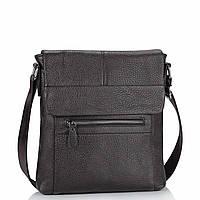 Кожаная мужская сумка через плечо коричневая Tiding Bag M38-9117-2B, фото 1