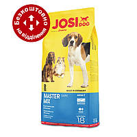 Josera JosiDog Master Mix 18 кг - мікс різнокольорових крокет для собак