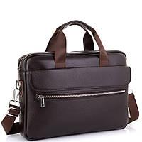 Сумка для ноутбука шкіряна чоловіча Tiding Bag A25-1127C