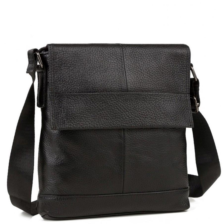 Чоловіча сумка через плече натуральна шкіра Tiding Bag M38-8136A