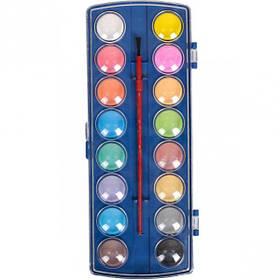 Акварель суха 16 кольорів пластик 22,5*9см 6016