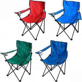Кресло раскладное с подлокотниками 80*40*40 см Х1-239
