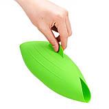 Миска-форма для випічки силіконова 7708, зелена, фото 3