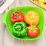 Миска-форма для випічки силіконова 7708, зелена, фото 8