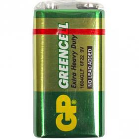 Батарейка GP 1604G-B сольова 6F22 (крона) GP-002205