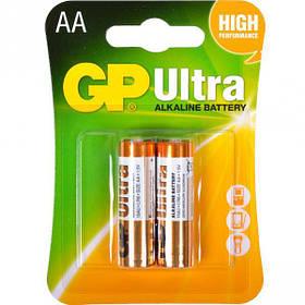 Батарейка GP 15AUHM-2UE2 лужна LR6 U. AA Alkaline GP Ultra-027581