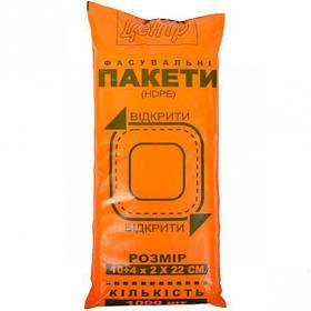 """Пакет фасовка """"Рибка"""" 10х4х22 см, 1000 штук"""