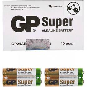 Батарейка GP 24АЕВ-2S2 по 2 штуки Alkaline mini GP-000546/006494