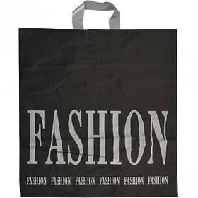 """Пакет ламінований чорно-сірий """"FASHION"""""""